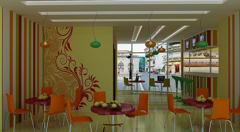 Дизайн интерьера кафе что это