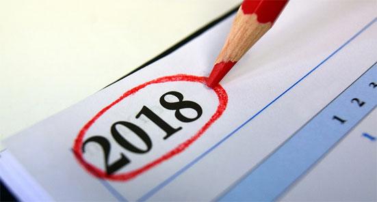 Выходные и праздничные дни 2018 года