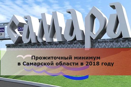 Прожиточный минимум в Самарской области в 2018 году