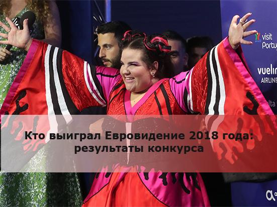 Кто выиграл Евровидение 2018 года: результаты конкурса