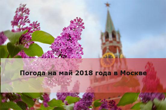 Погода на май 2018 года в Москве