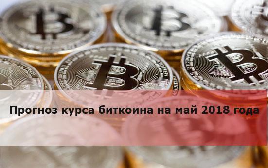 Прогноз курса биткоина на май 2018 года