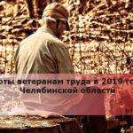 Льготы ветеранам труда в 2019 году в Челябинской области