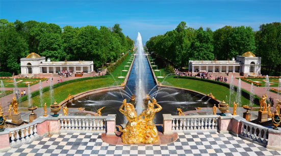 Расписание праздника открытия фонтанов Петергофа 19 мая 2018 года