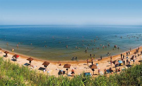 Азовское море: тепло и недорого!