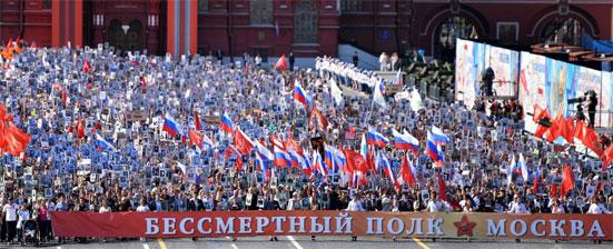 Маршрут Бессмертного полка 2018 года в Москве, где можно присоединиться к шествию