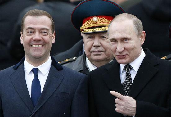 Причина первая: Медведев потенциально может стать и.о. президента