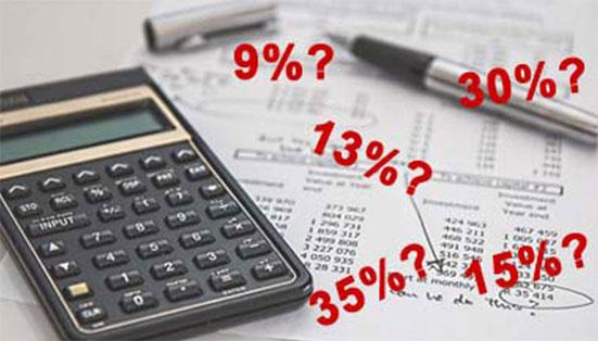 таблица налогов с зарплаты