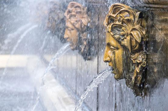 Осенний праздник фонтанов в Петергофе в 2018 году