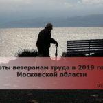 Льготы ветеранам труда в 2019 году в Московской области